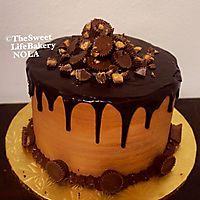 Chocolate peanut butter cup with chocolate ganache _1