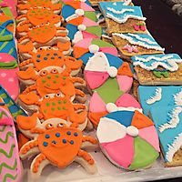 Beach themed sugar cookies _1