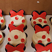 Minnie Mouse cupcakes _1